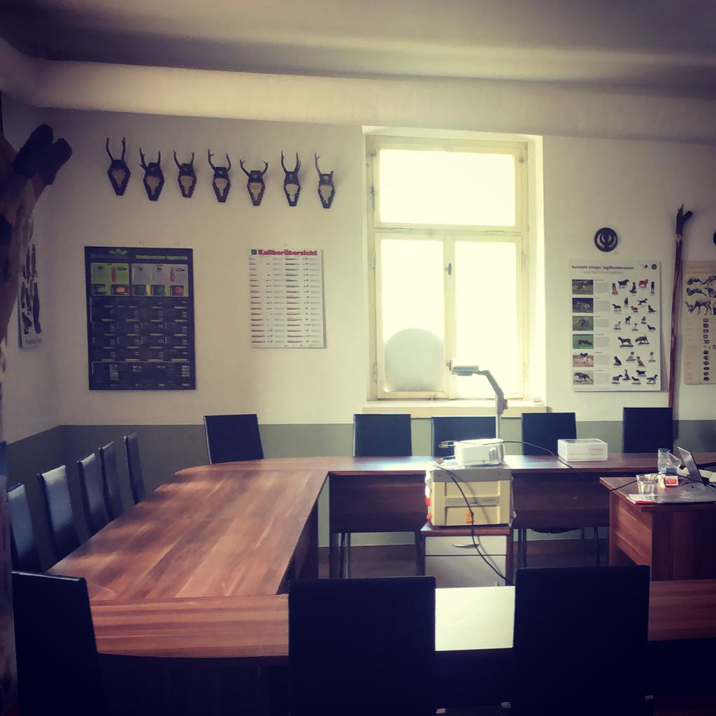 Schulungsraum - Jagdschule Sachsen-Anhalt im Rittergut Etzdorf